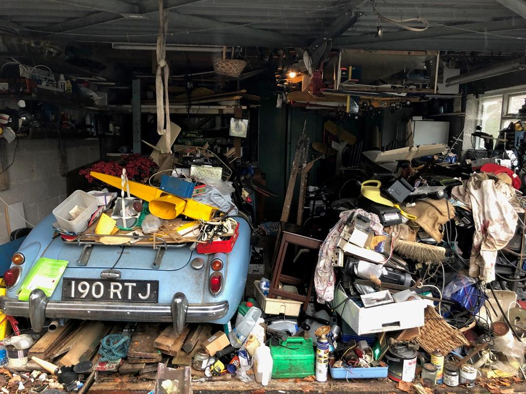 Garage Stored MG Discovered